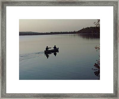 Evening Ride Framed Print by Andrea Arnold