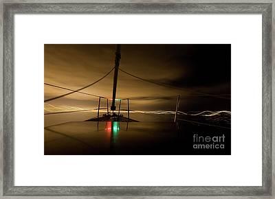Evening Sail Framed Print by Matt Tilghman