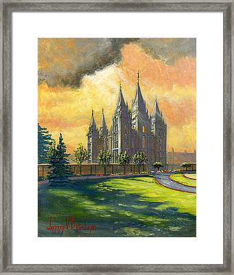 Evening Splendor Framed Print