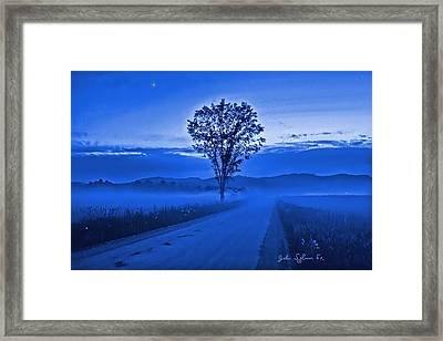 Evening Star Framed Print by John Selmer Sr
