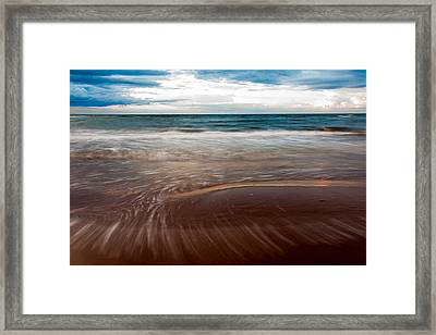 Evening Tide Framed Print by Matt Dobson
