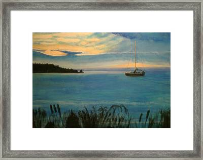 Evensong Framed Print by Charlie Harris