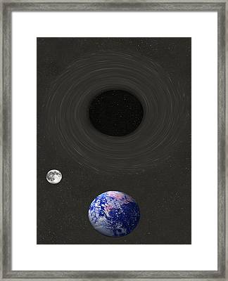 Event Horizon Framed Print by Eric Kempson