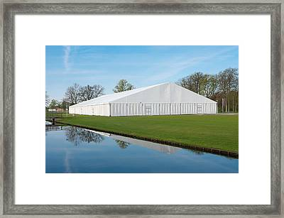Event Tent Framed Print by Hans Engbers