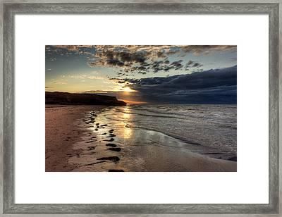 Eventide Framed Print by Matt Dobson