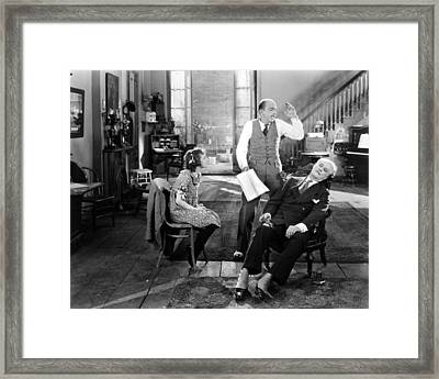 Everybodys Acting, 1926 Framed Print by Granger