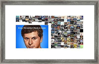 Everyone's Revolution Framed Print by Holley Jacobs