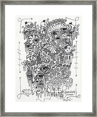 Everything Melts Framed Print by Robert Wolverton Jr