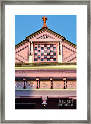 Everything Pink Framed Print by Jeanne  Woods