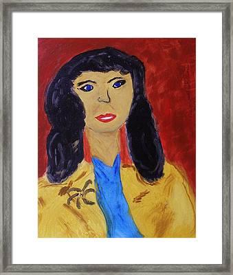 Everywoman Framed Print by Mary Carol Williams
