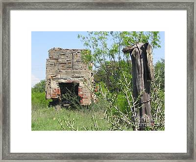 Framed Print featuring the photograph Evidence by Mark Robbins