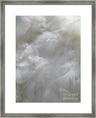 Framed Print featuring the painting Evidence Of Angels by Newel Hunter