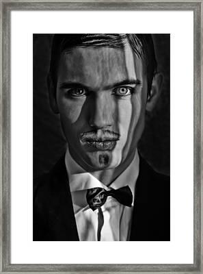 Evil Framed Print by Anastasia Baroditch