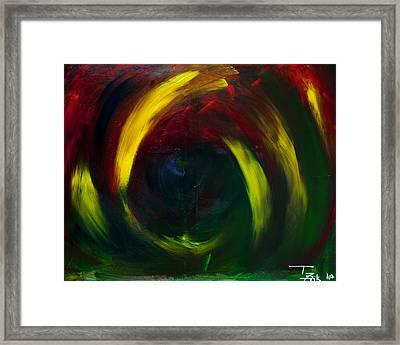 Evil Eye Framed Print by Terrance Prysiazniuk