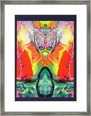 Evilsexmystery Framed Print by Dan Cope