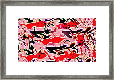 Evolve Abstract Painting Framed Print by David Dehner