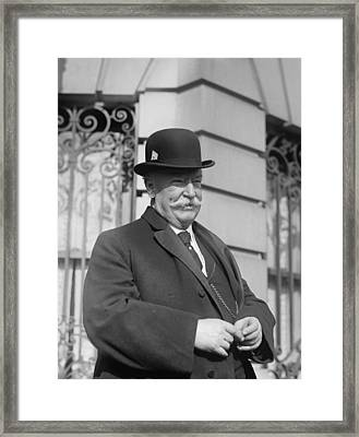 Ex-president, Then Chief Justice Taft Framed Print