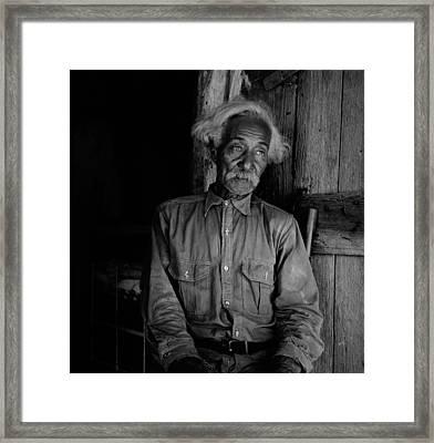 Ex-slave Bob Lemmons Was Born Framed Print by Everett