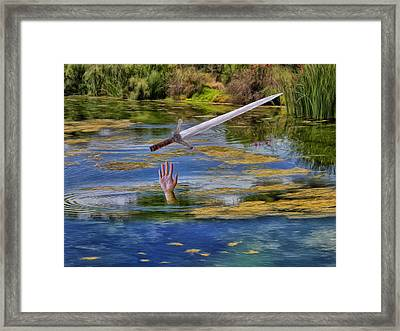 Excalibur Framed Print by Dominic Piperata