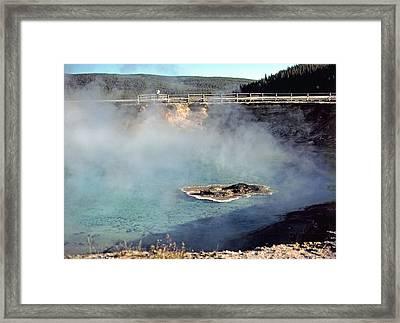 Excelsior Geyser Crater Framed Print by Rod Jones
