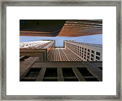 Exchange Canyon Framed Print