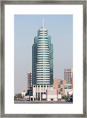 Exchange Place Centre I Framed Print by Clarence Holmes
