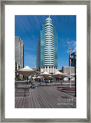 Exchange Place Centre II Framed Print by Clarence Holmes