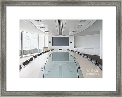 Executive Boardroom Framed Print