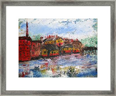 Exeter Nh Landscape Framed Print by Michel Croteau