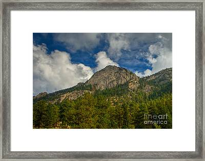 Exfoliation Dome Of Macgregor Mountain Framed Print by Harry Strharsky