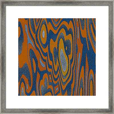 Framed Print featuring the digital art Exhalatio by Jeff Iverson