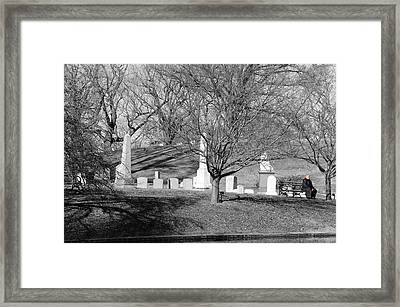 Existence Framed Print by Paul Ward