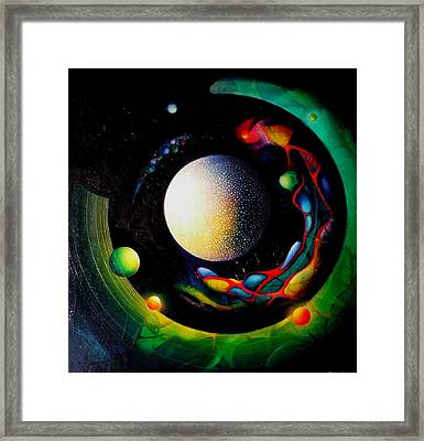 Exit Framed Print by Drazen Pavlovic