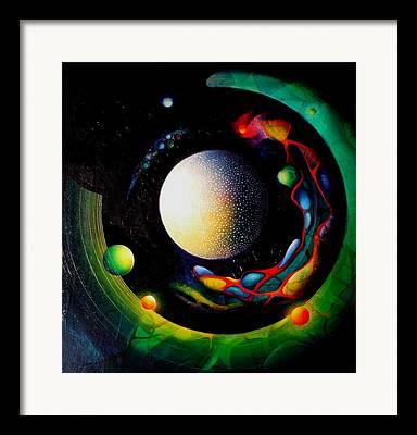 My Inner World Framed Prints