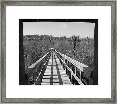 Framed Print featuring the photograph Exit To by Bill Lucas