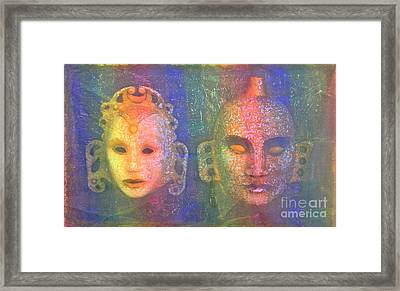 Exotic Couple Framed Print by Nareeta Martin