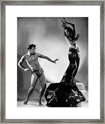 Exotic Dancers Framed Print