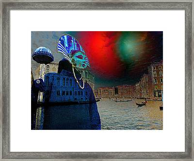 Exotica Stravaganze Framed Print by Monica Ghit