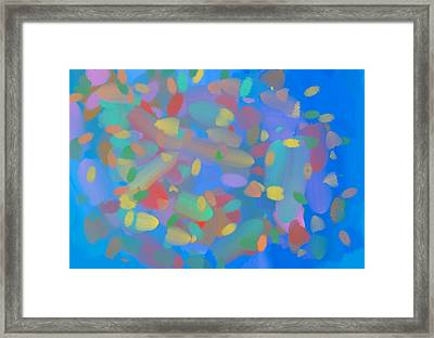 Expanding Galaxy Framed Print by Naomi Jacobs