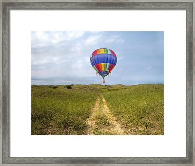 Exploration  Framed Print by Betsy Knapp