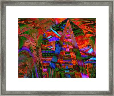 Exploration Framed Print by Paula Ayers