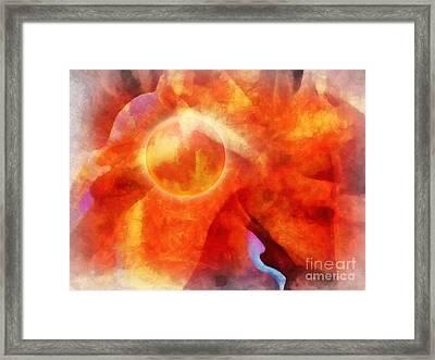 Exploria Framed Print by Lutz Baar