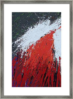 Explosion 1 Framed Print by Brian Rock
