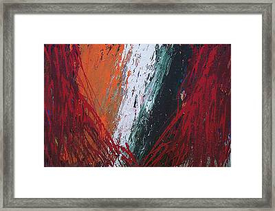 Explosion 2 Framed Print by Brian Rock