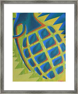 Explosion Of Color Framed Print by Landon Clary