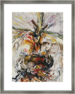 Explosion Two Framed Print