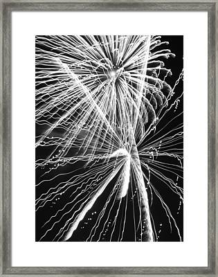 Explosions For Sovereignty And Liberty Framed Print by Carolina Liechtenstein