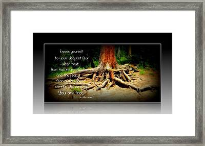 Expose Yourself Framed Print by Michelle Frizzell-Thompson