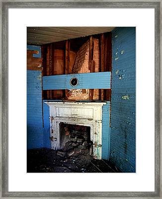 Exposed - Katnis' House  Framed Print by Tammy Cantrell