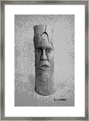 Expression From Within Framed Print